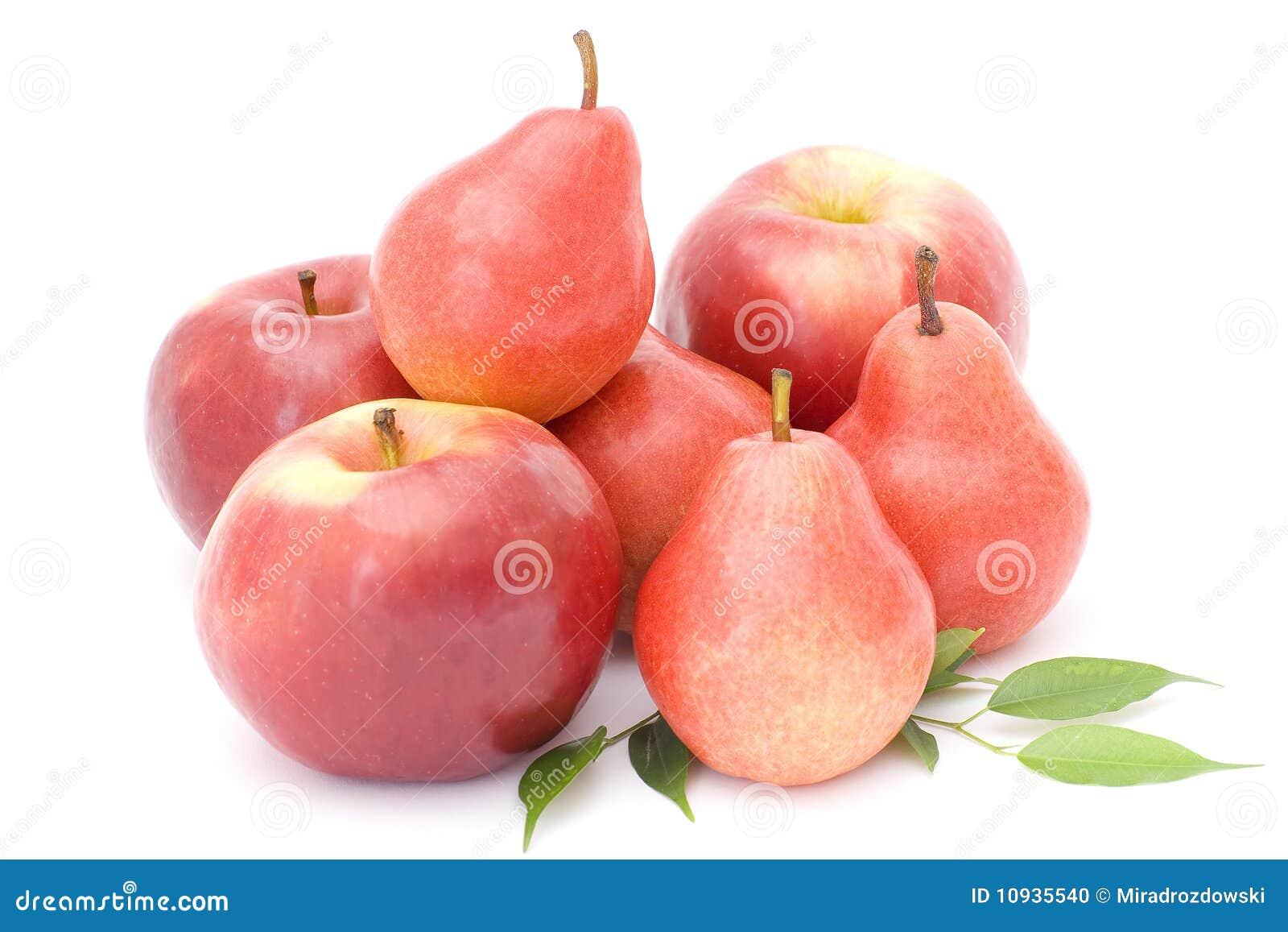 груши яблок красные