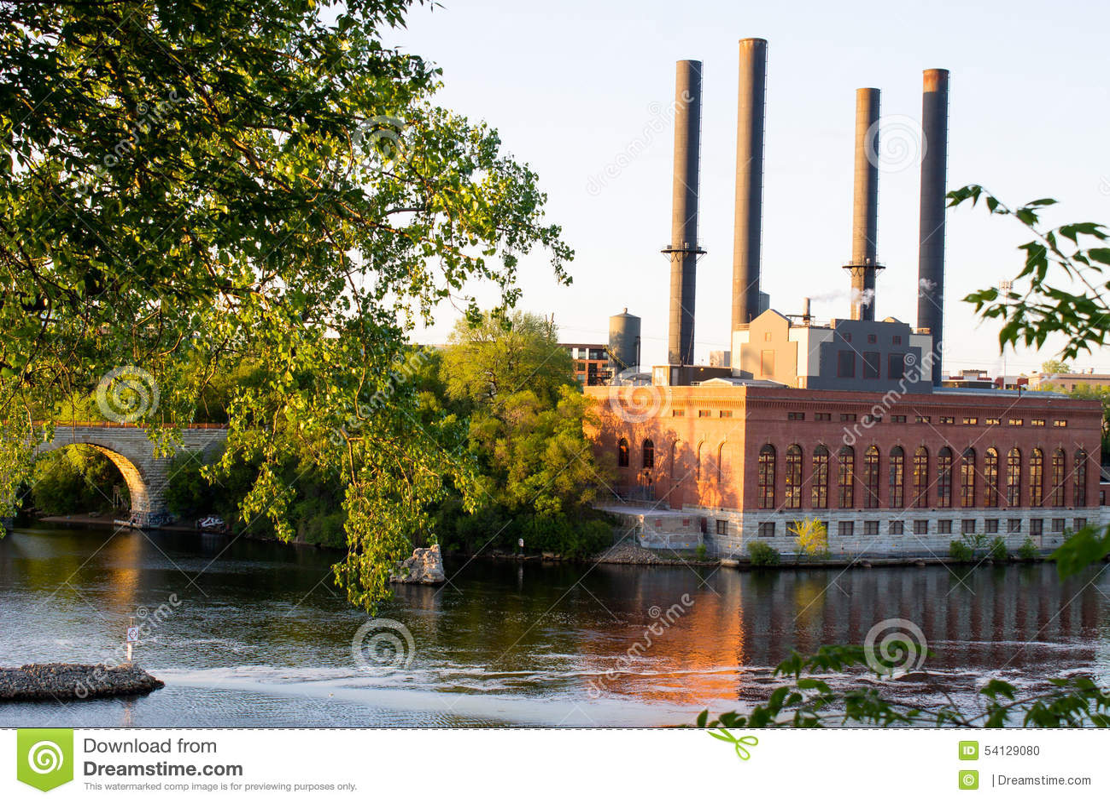 ГЭС, Миннеаполис Минесота