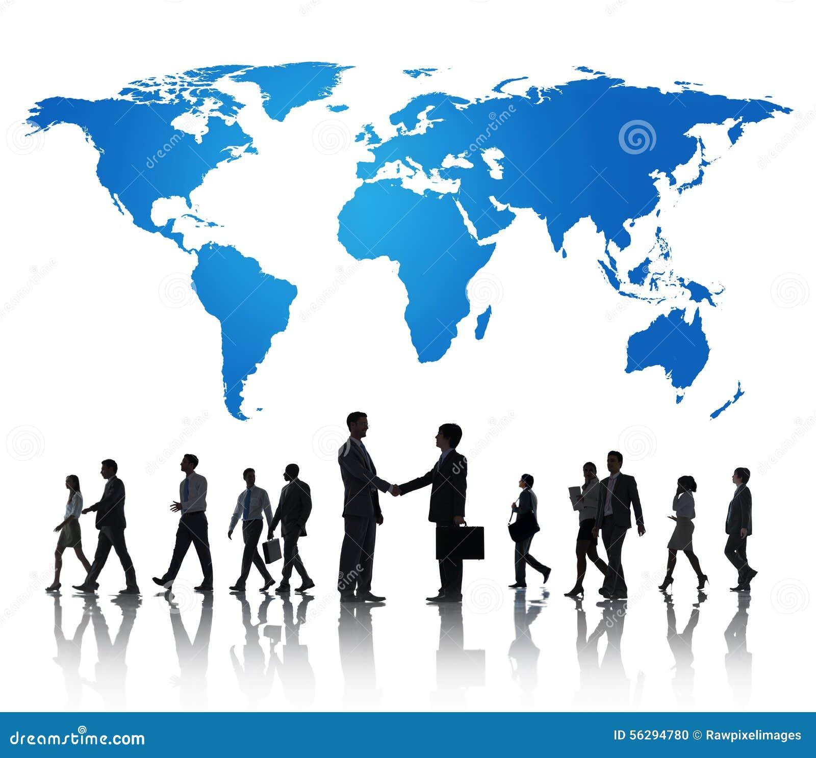 Глобальная международная концепция сотрудничества сотрудничества дела