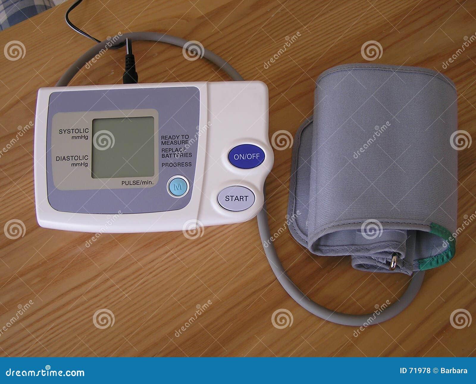 давление монитора крови