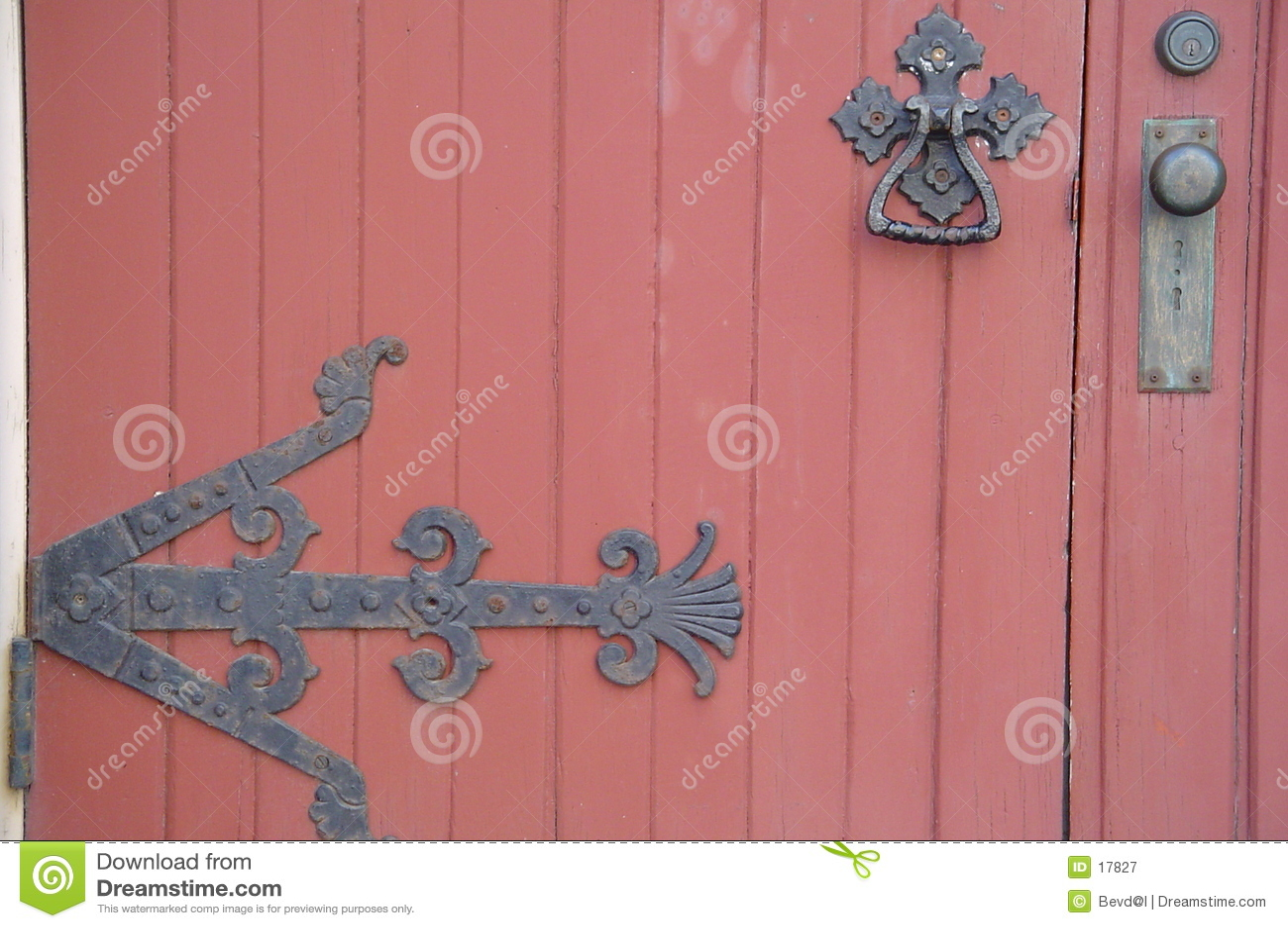 дверь старая