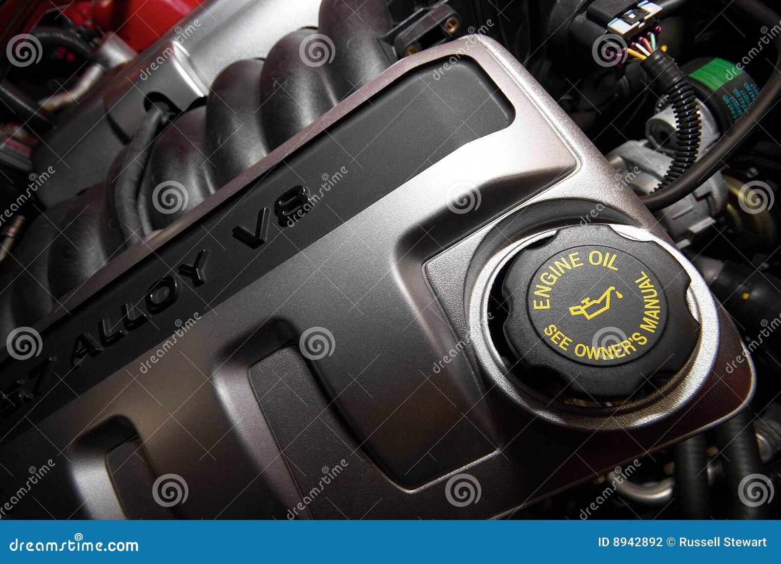 двигатель v8 сплава