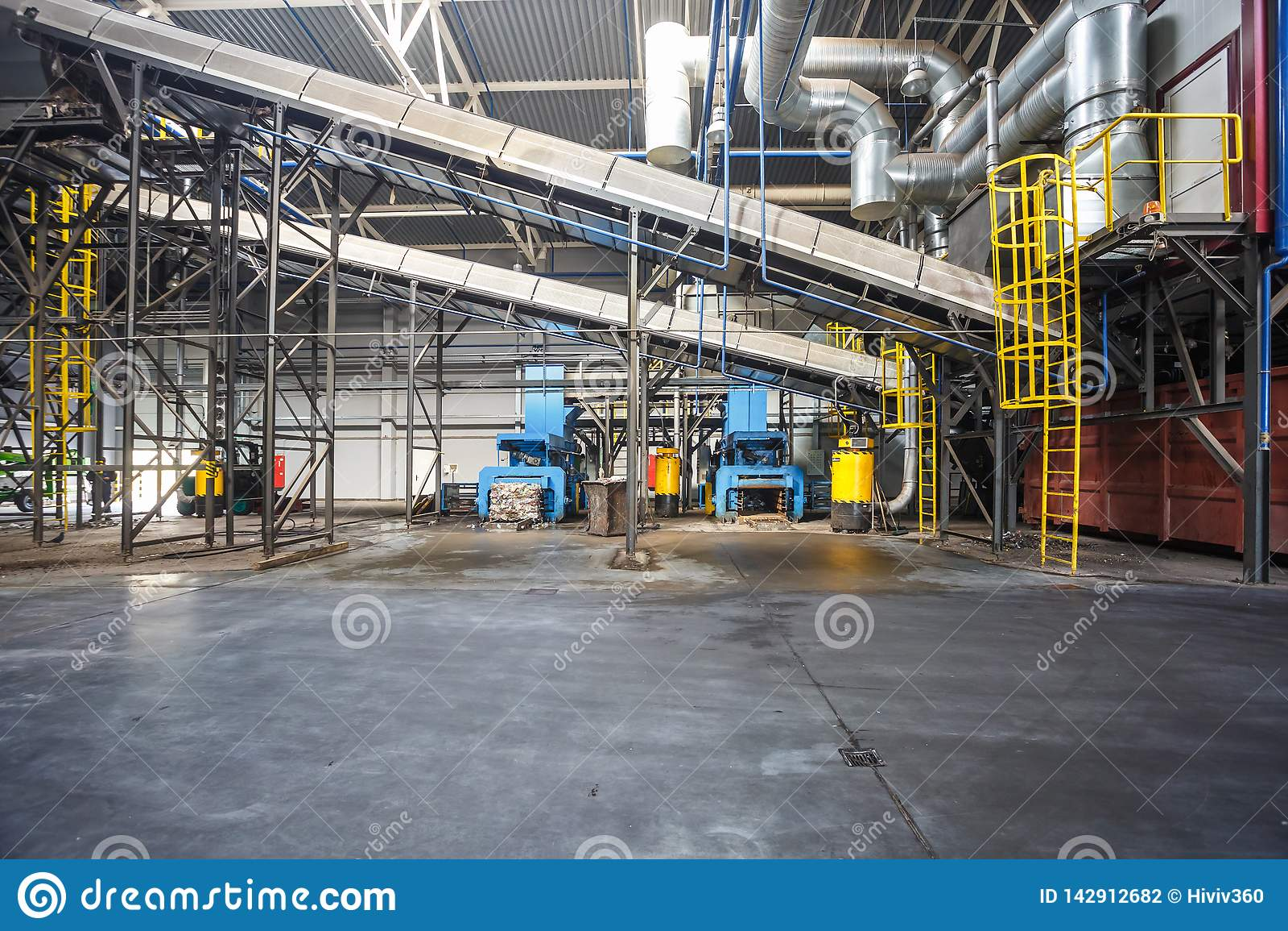транспортеры на заводе