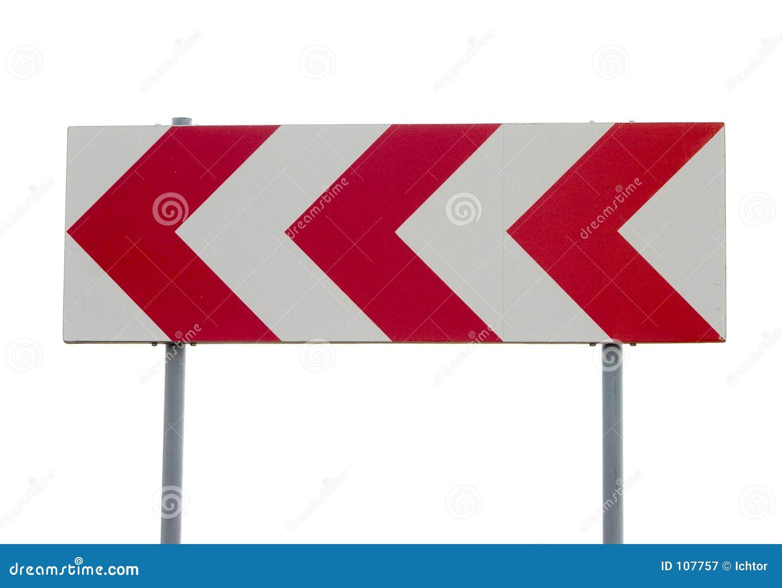 движение знака