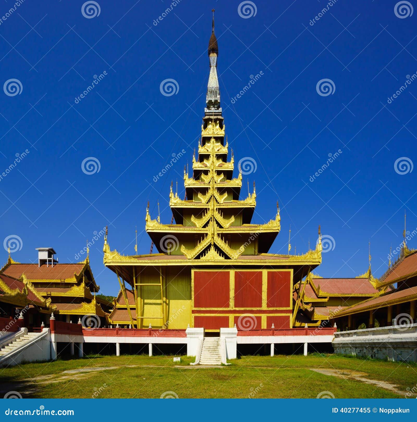 Дворец Мандалая, Мандалай, Мьянма