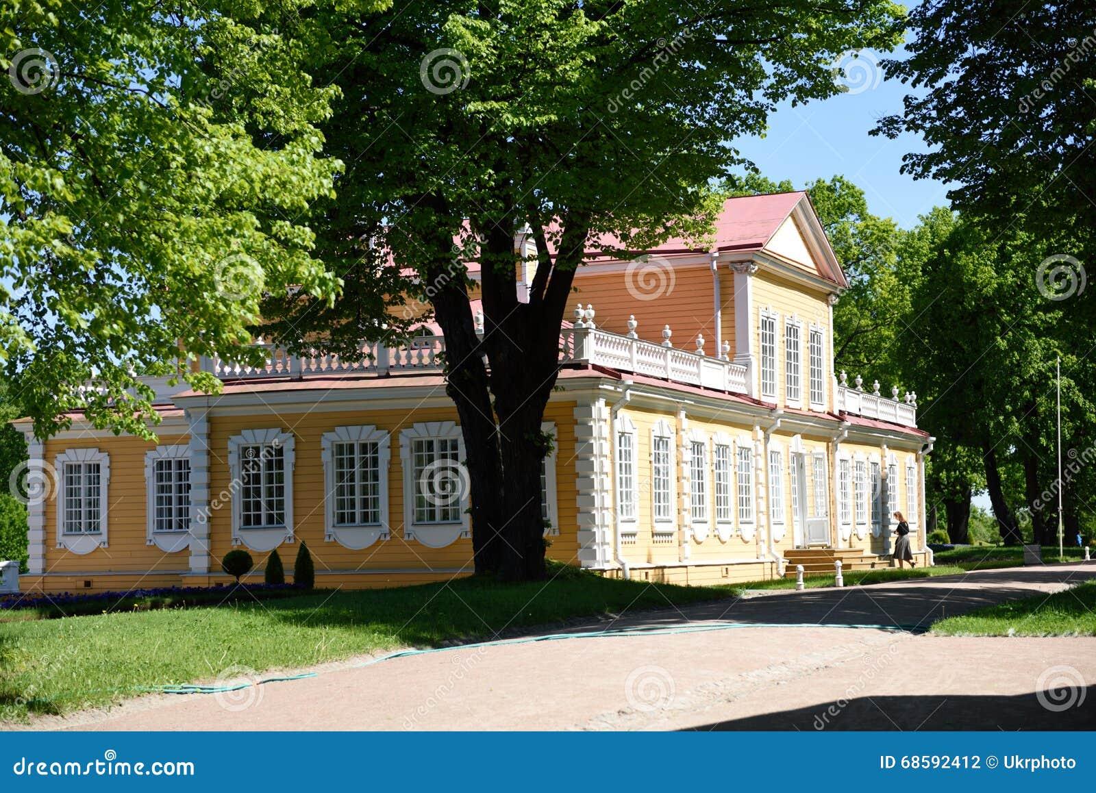 Дворец Питера большой в Strelta, Санкт-Петербурге, России