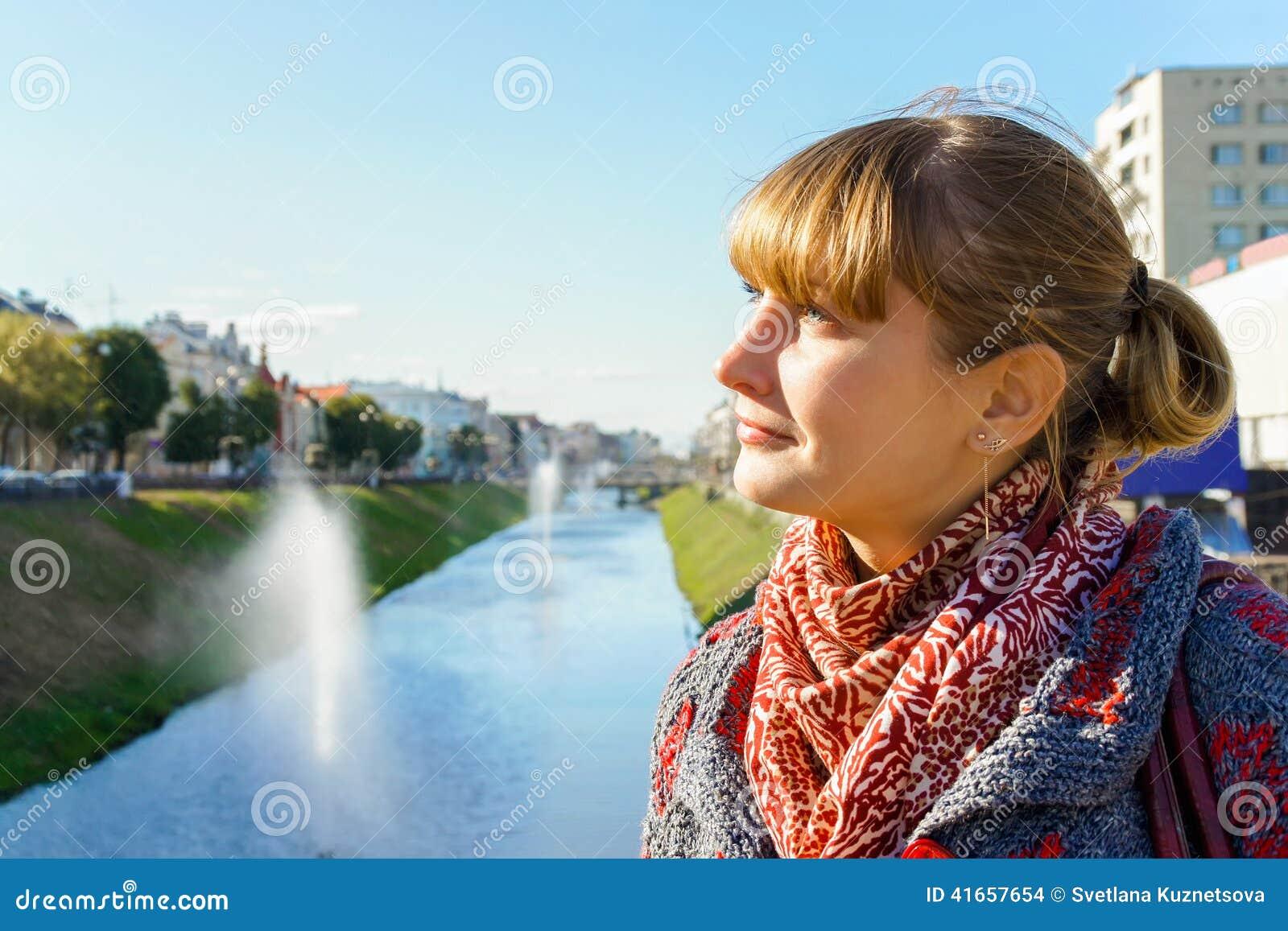 Девушка в Казани в России