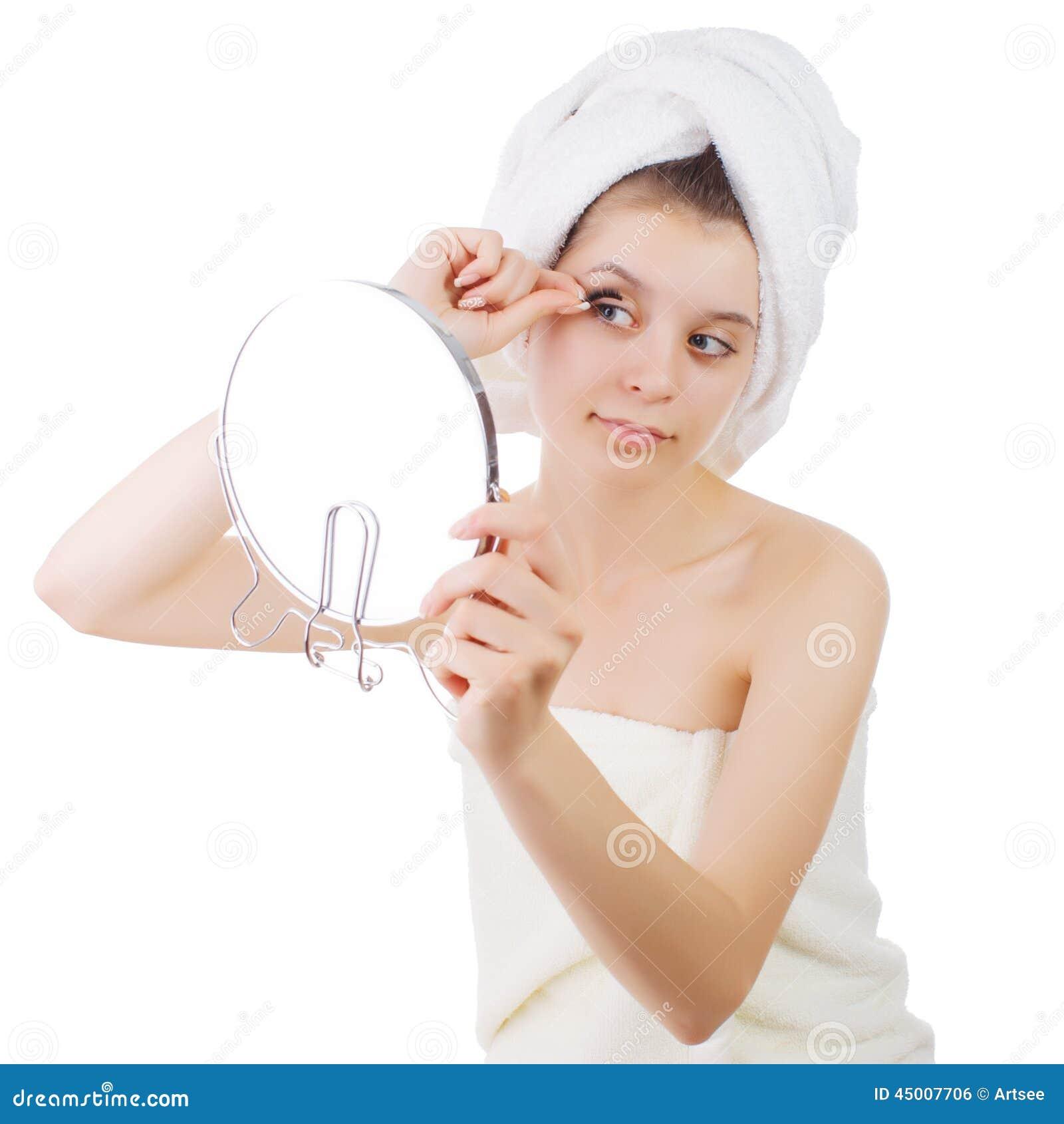 Девушка в полотенсе фото 168-966