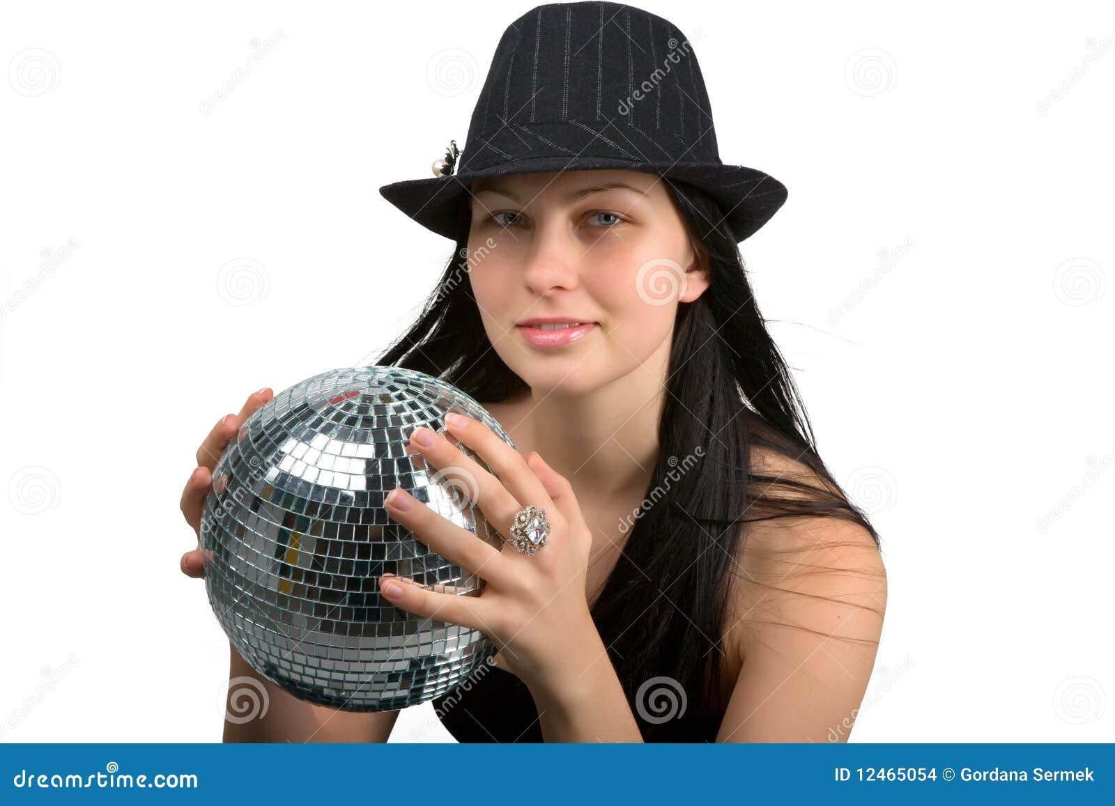 девушка диско