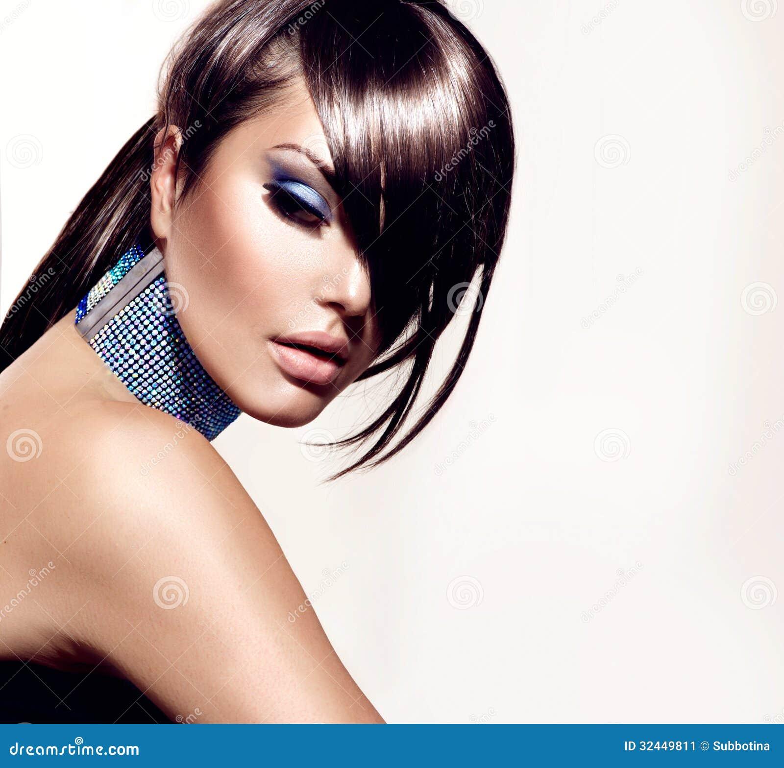 Девушка красоты моды