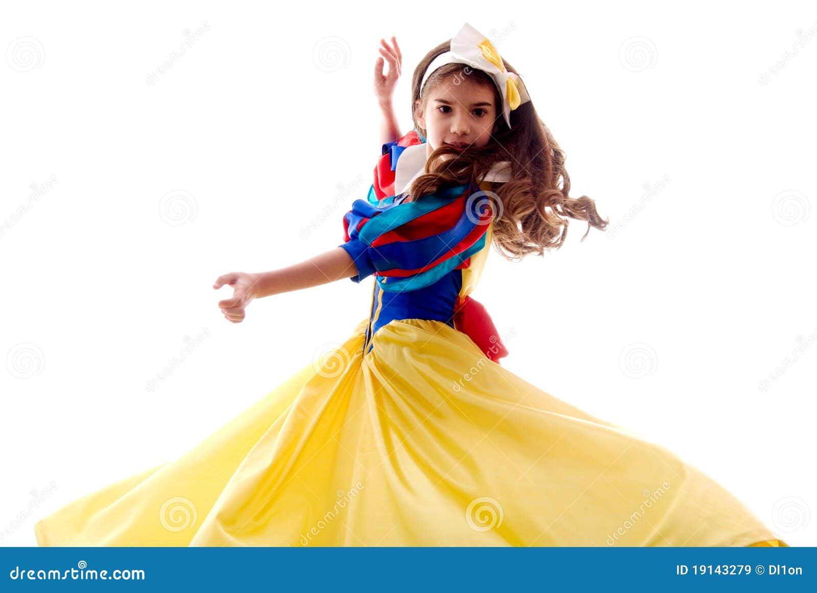 девушка милого танцы fairy немногая
