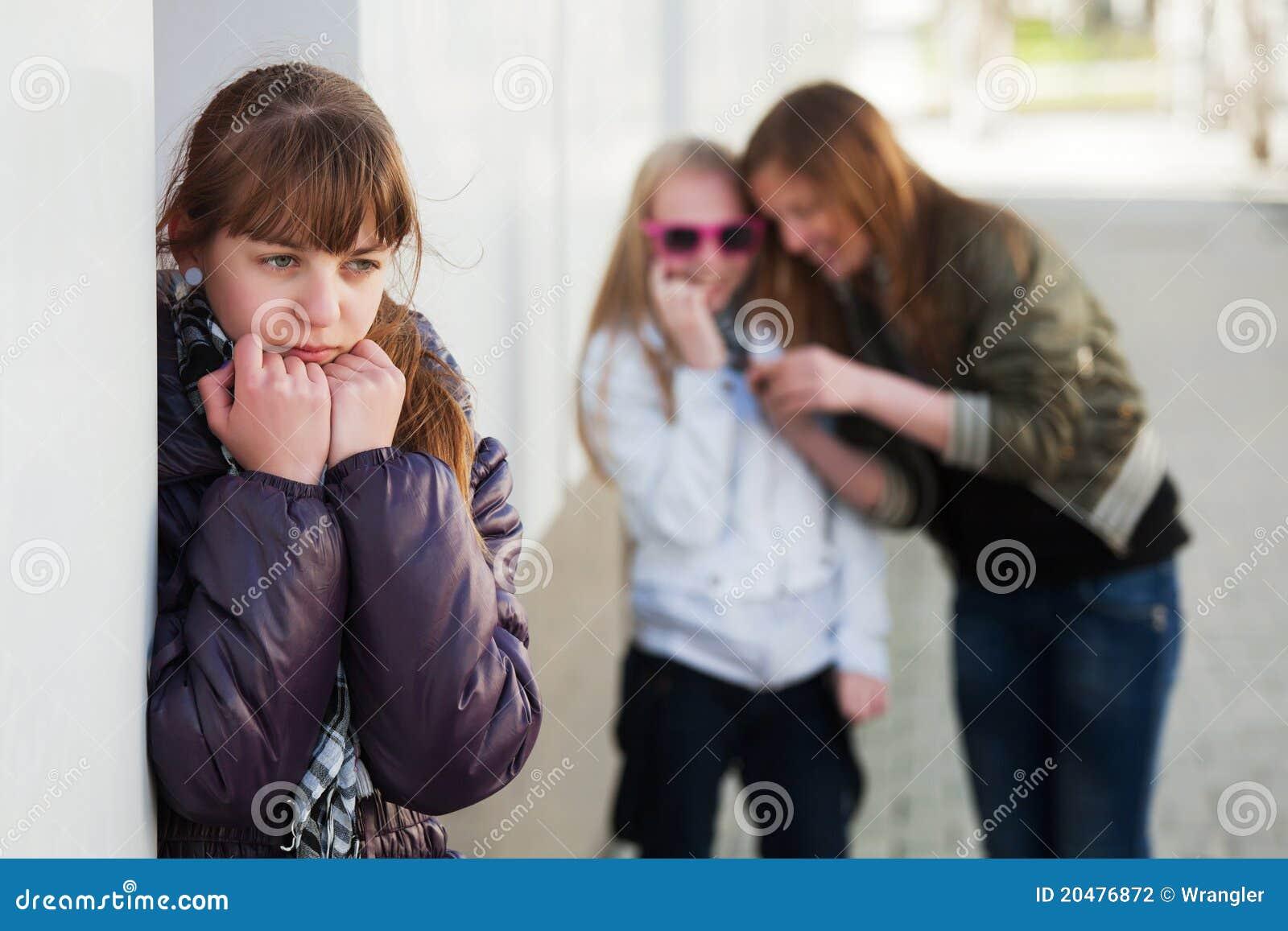 девушка нажатия подростковая