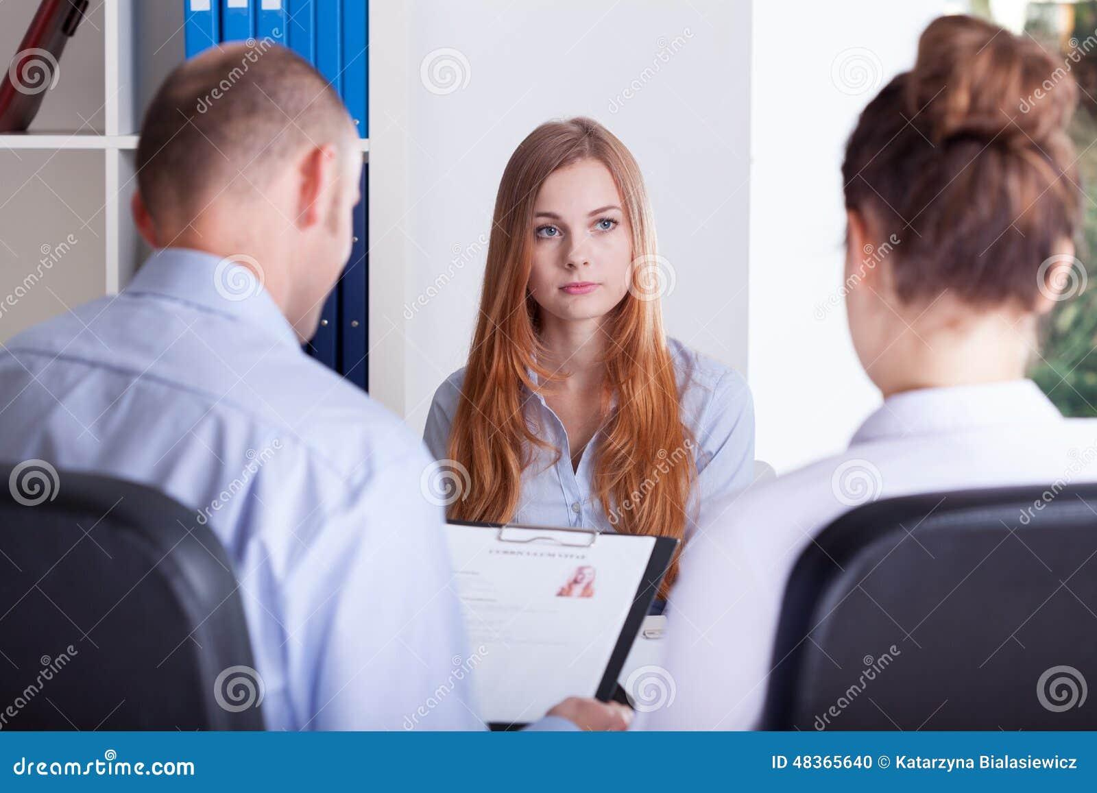 Собеседование на работу девушек куда устроиться на работу девушке без образования