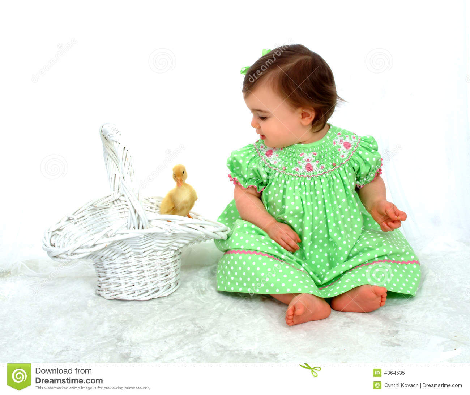 девушка утки младенца