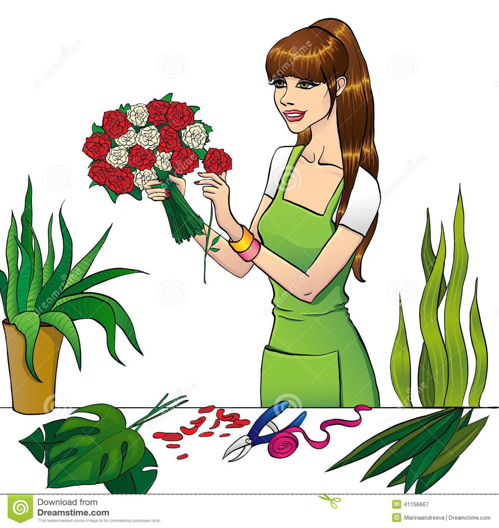 Что такое флористический рисунок