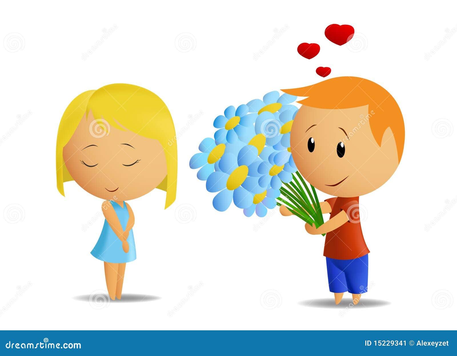 Рисунок в цвете мальчика