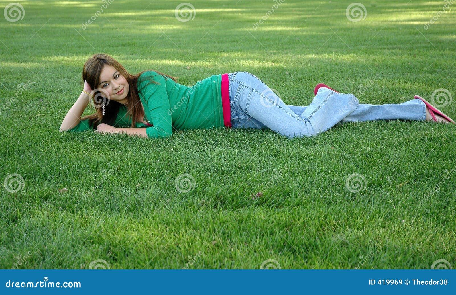 девушка 16 outdoors