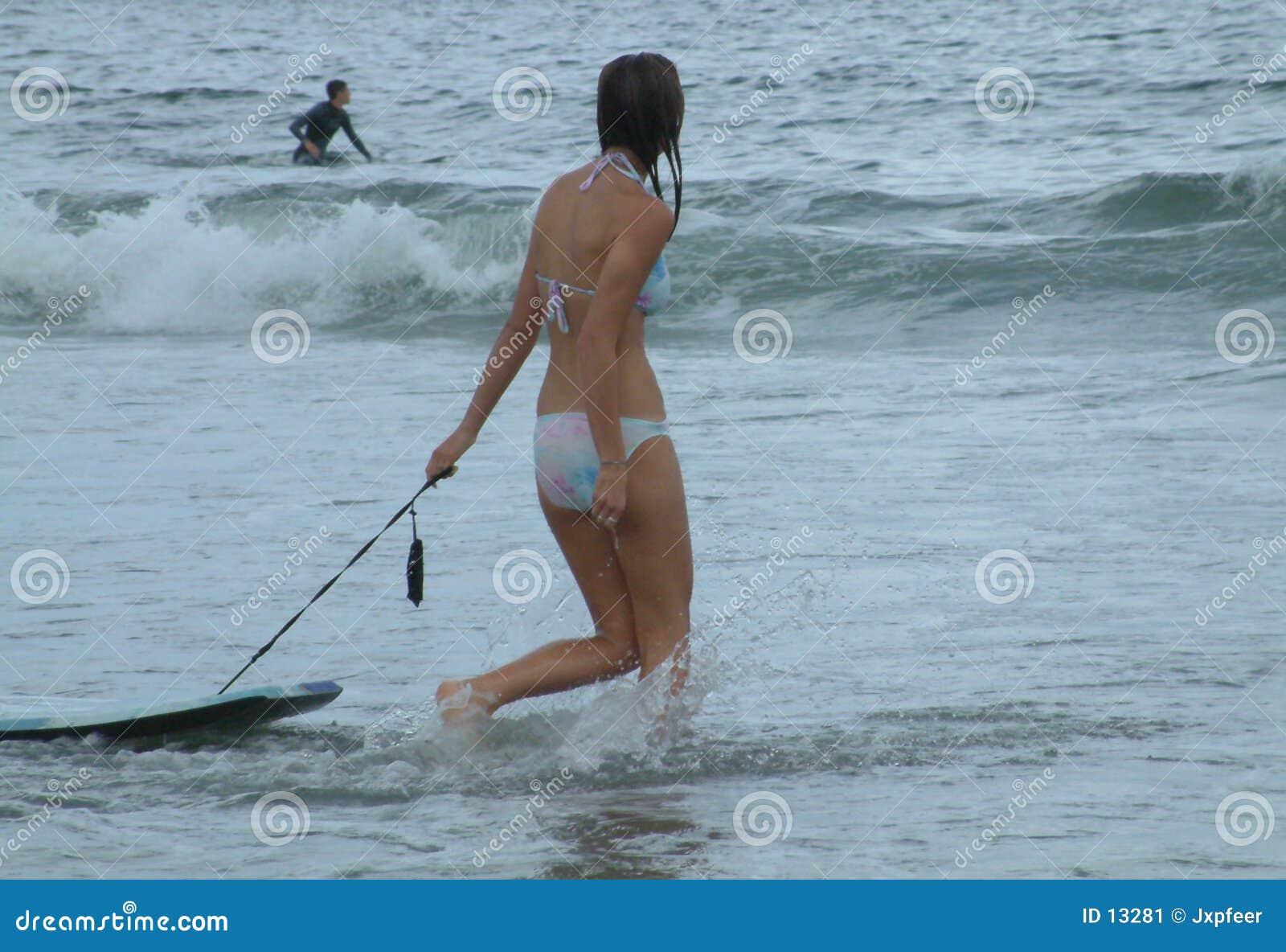 девушка 7 пляжей