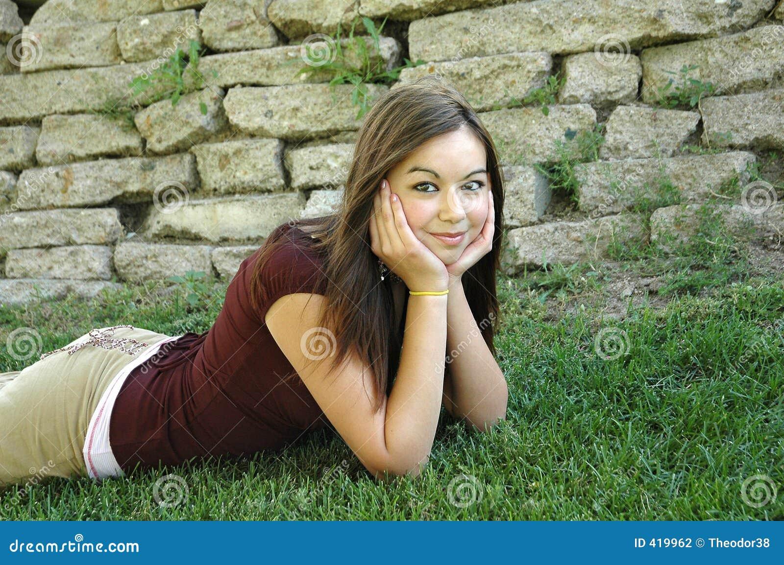 девушка 9 outdoors