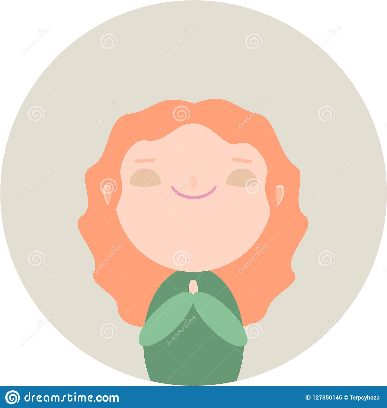 Девушка Redhead милая