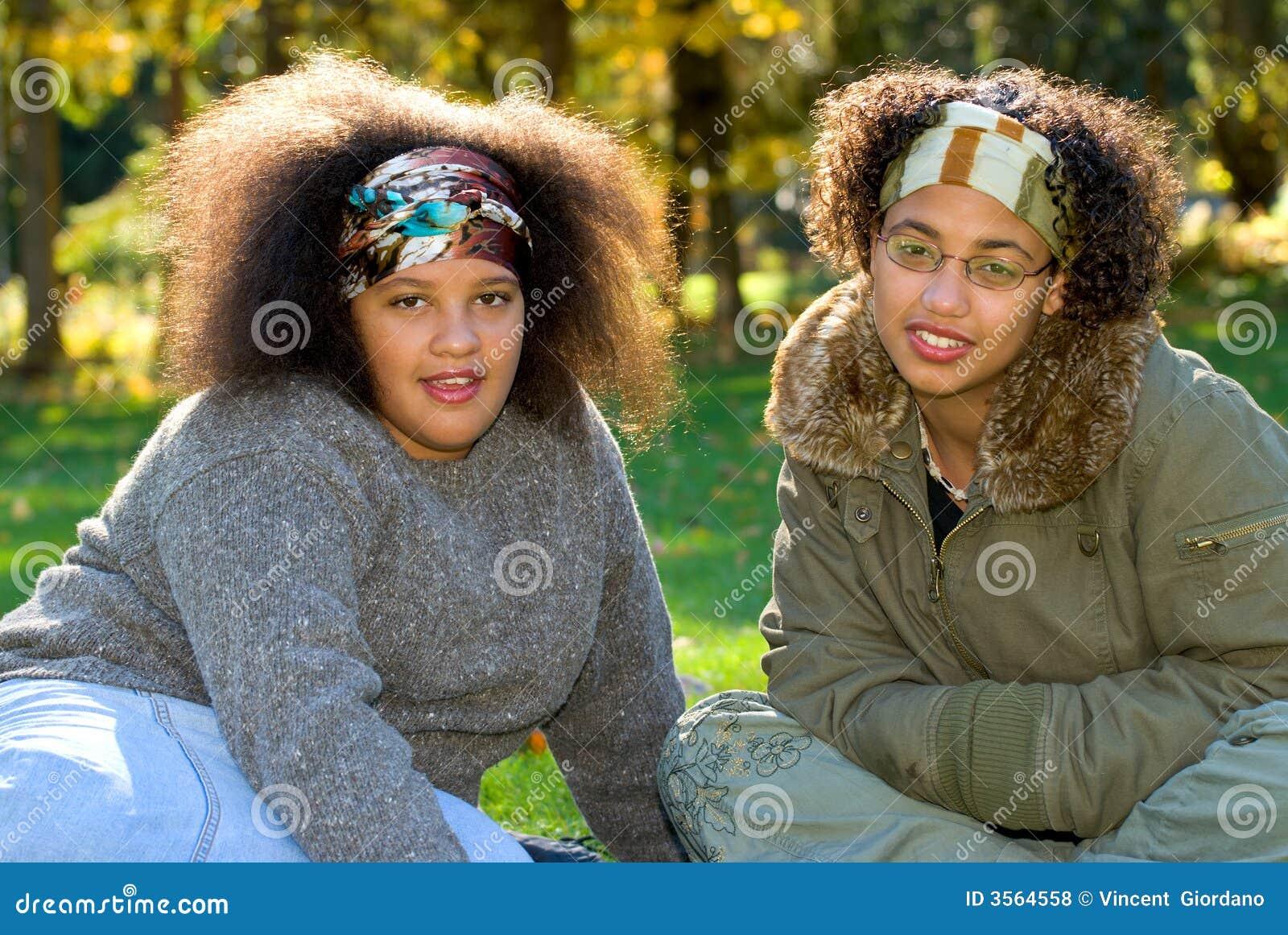 девушки афроамериканца предназначенные для подростков