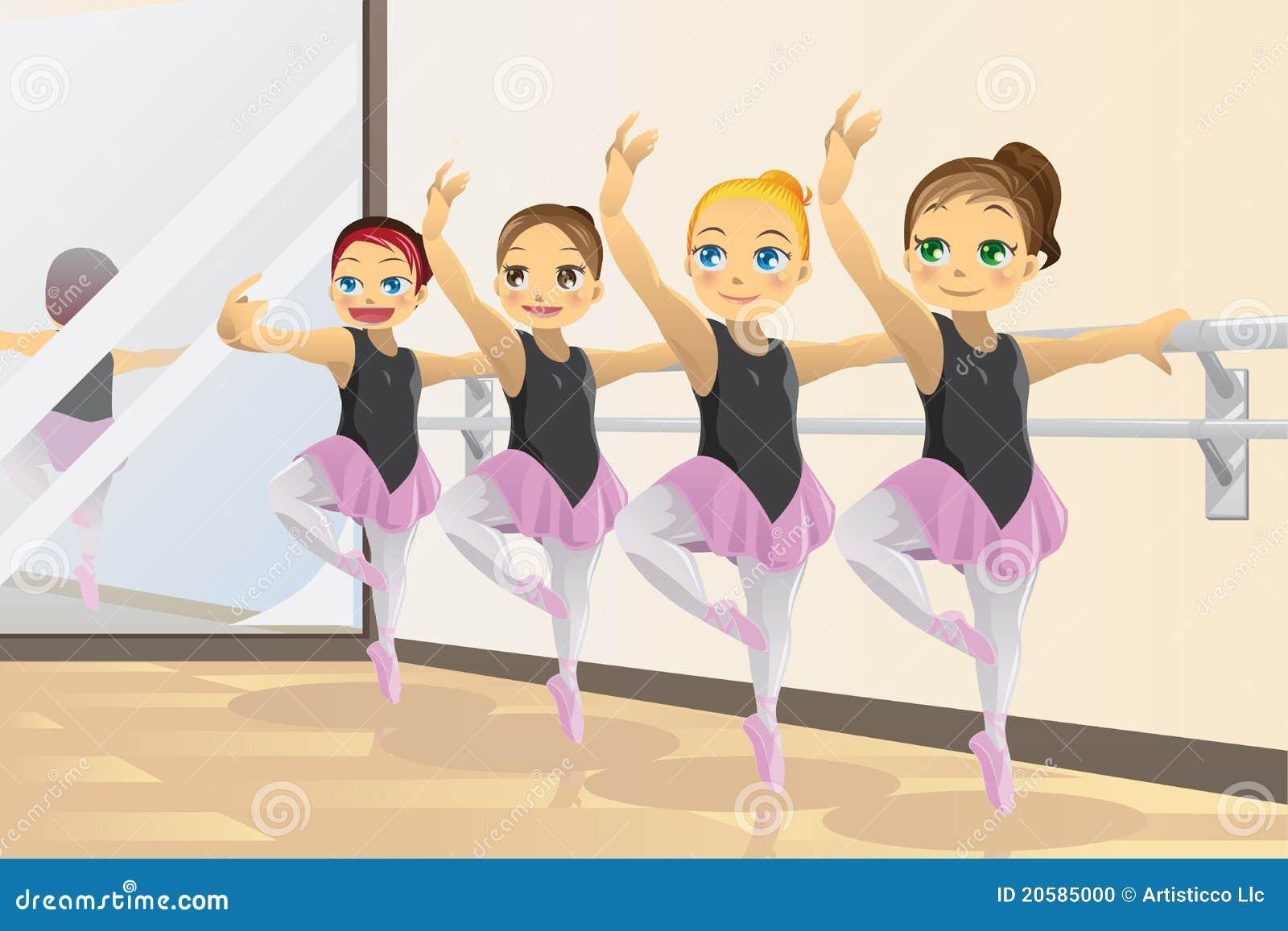 девушки балерины