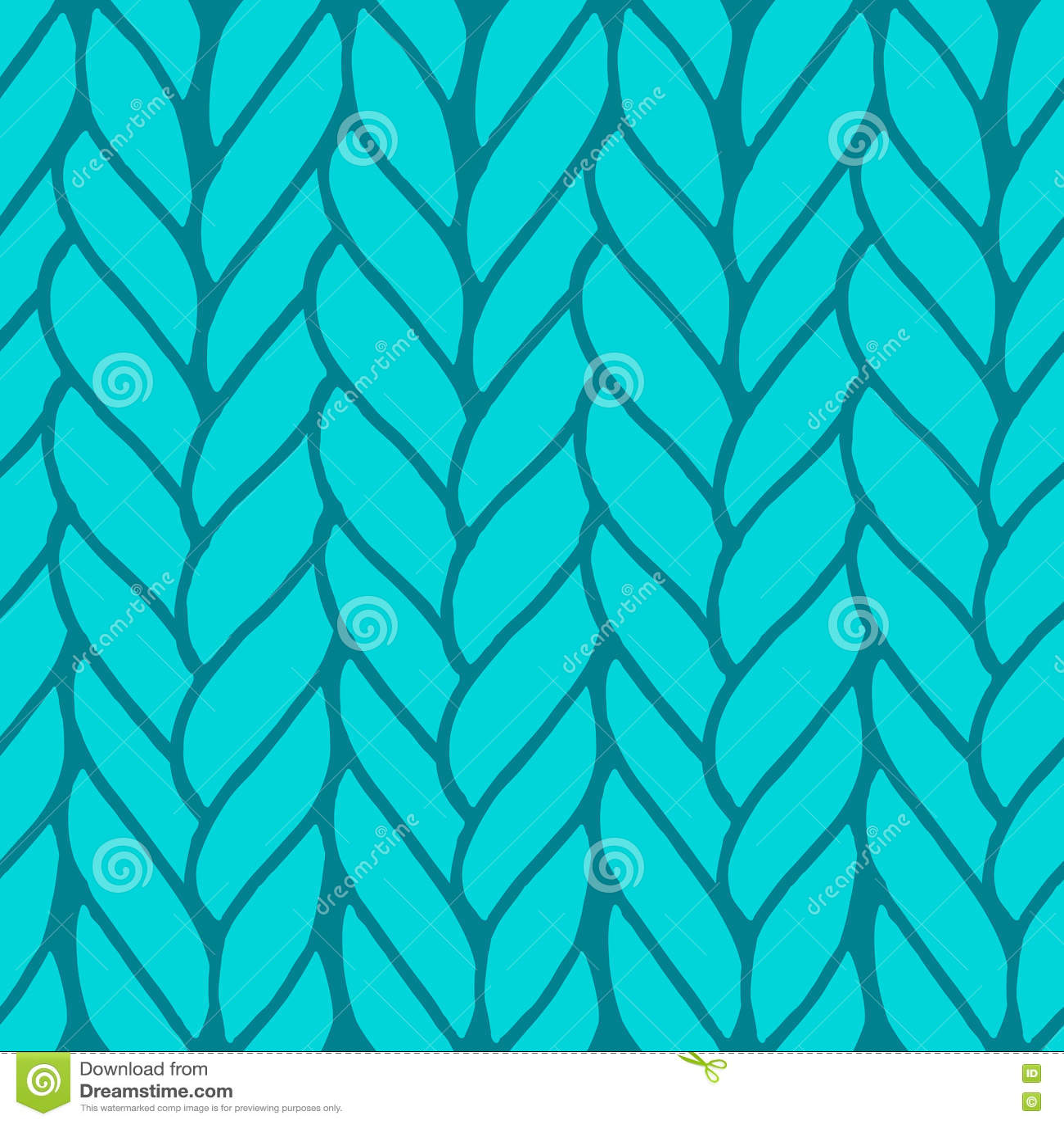 Download Декоративная вязать картина оплеток безшовная Иллюстрация вектора - иллюстрации насчитывающей материал, бесконечно: 72293551