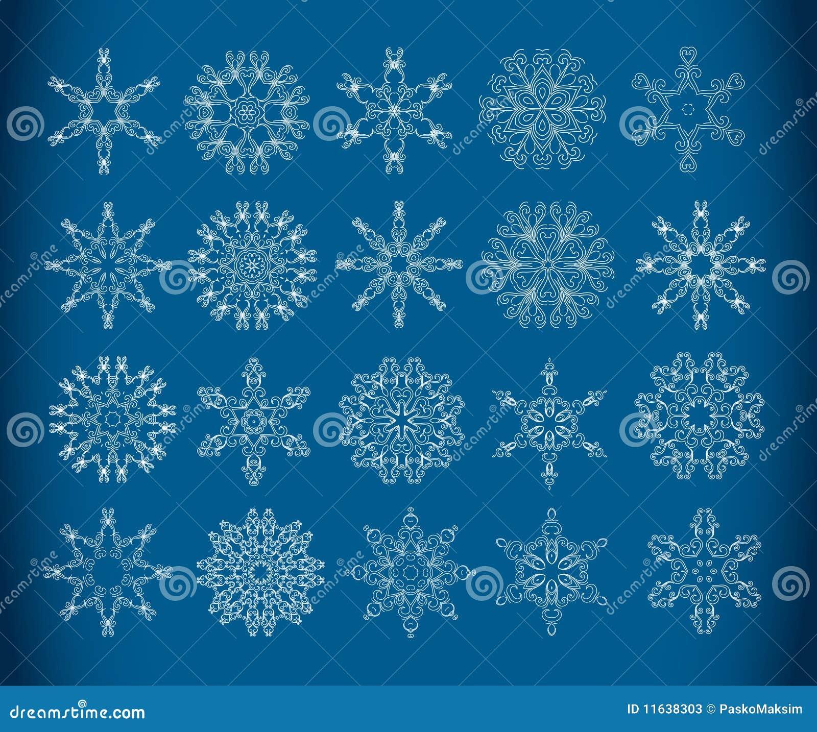 декоративные снежинки