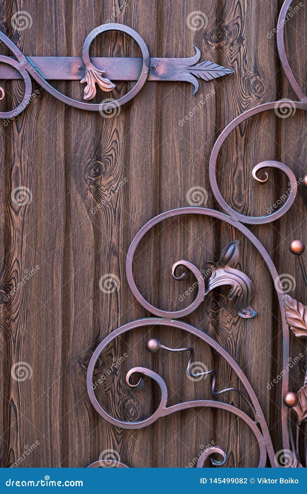 Декоративные элементы выковали handmade дизайны украшения