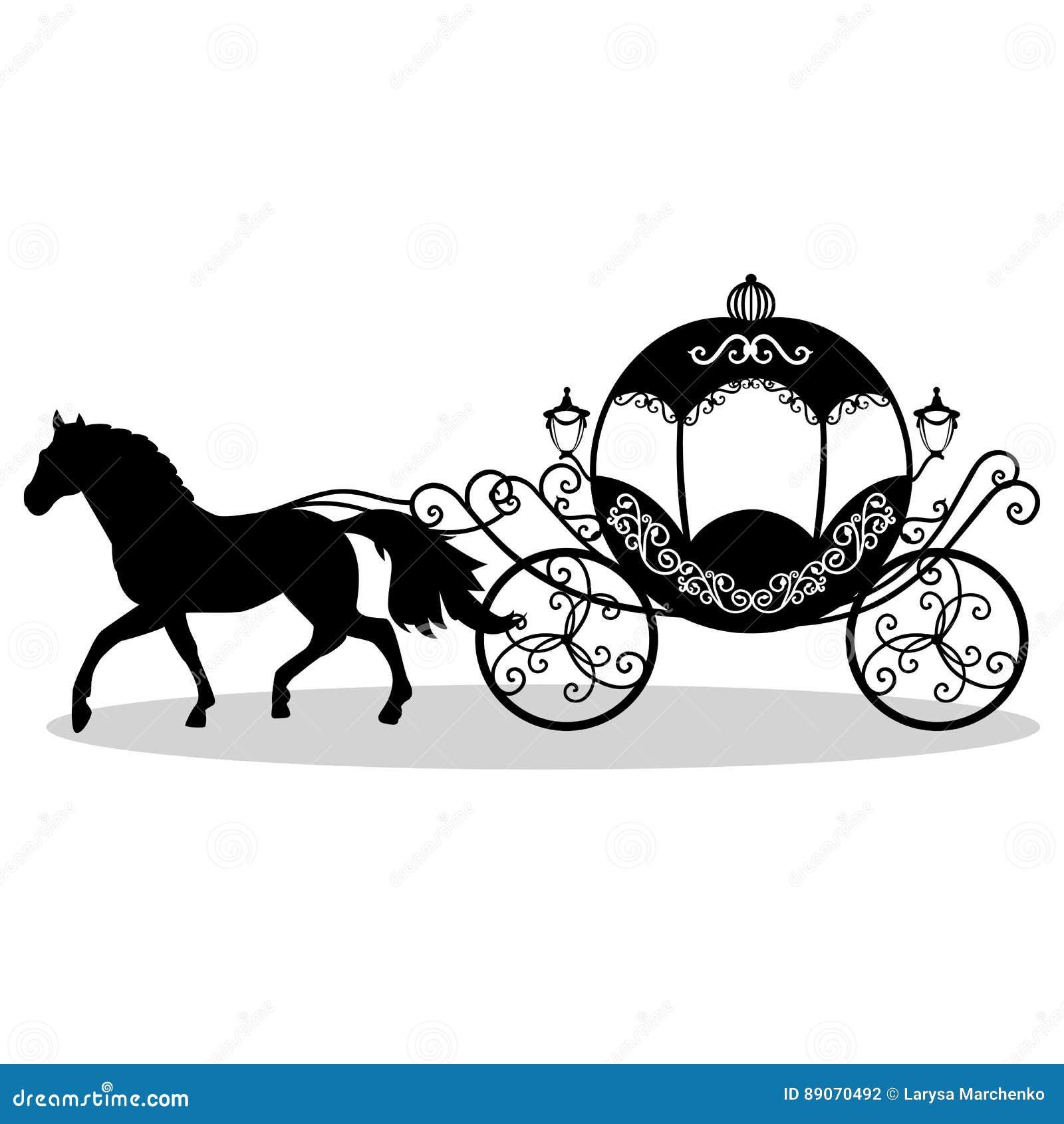 Декоративный brougham карета