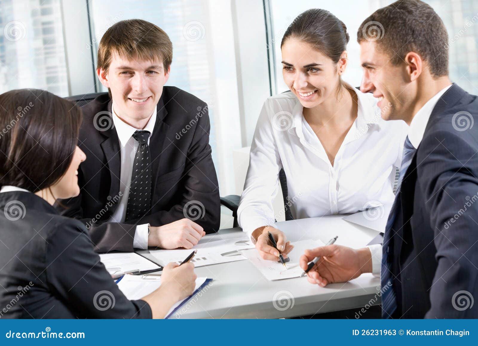 картинки деловая встреча