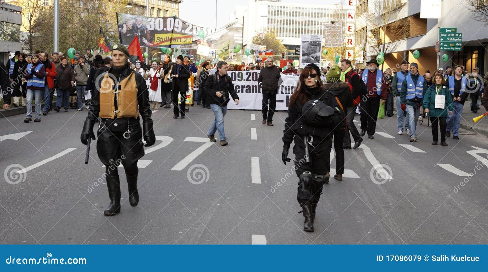 демонстрация k21 stuttgart