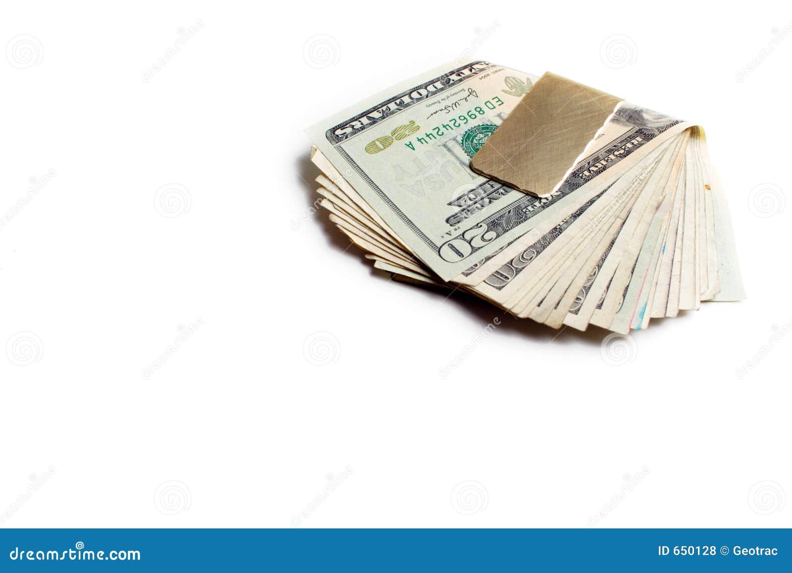 деньги зажима