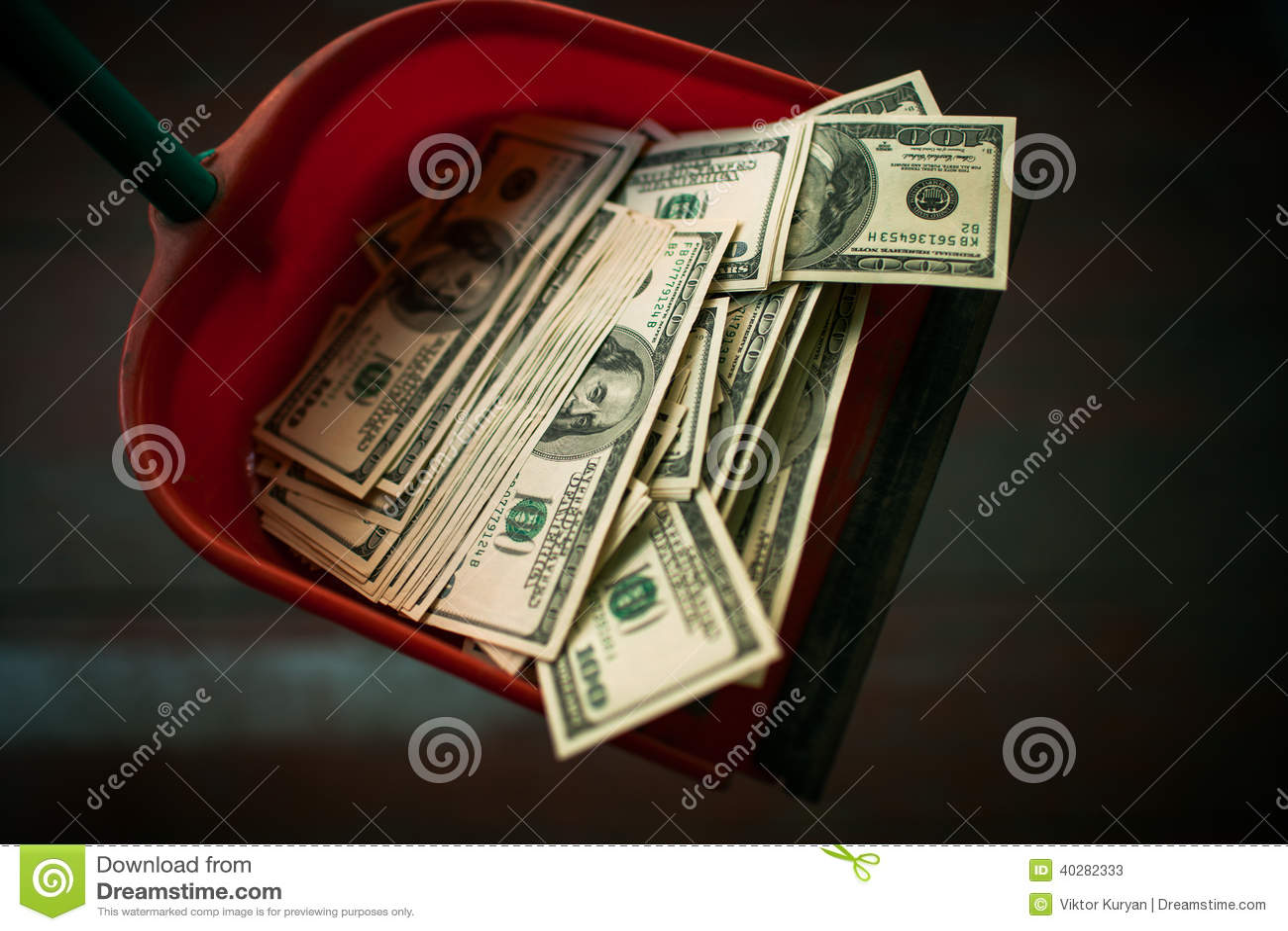 Деньги как отброс