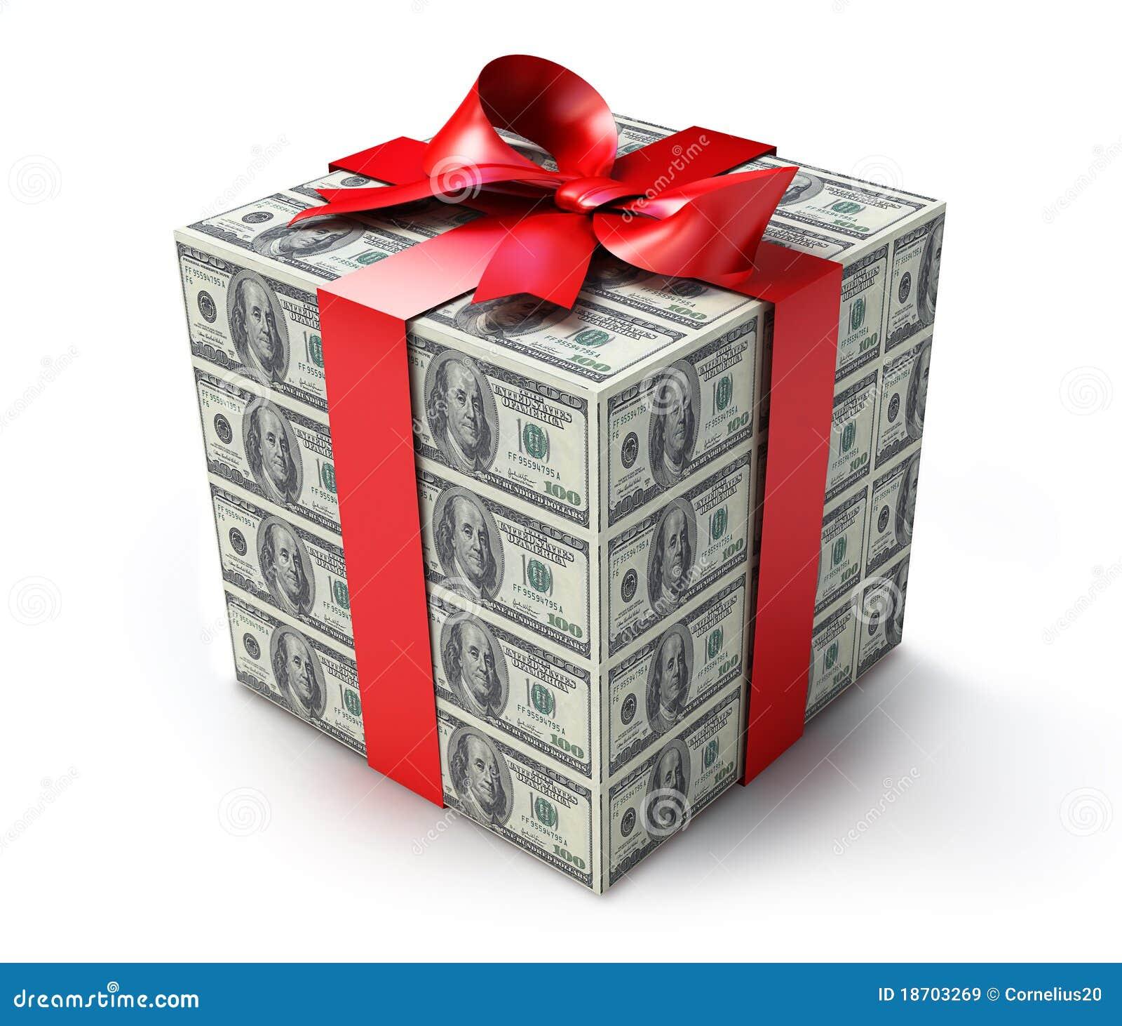 Как красиво оформить купюру в подарок
