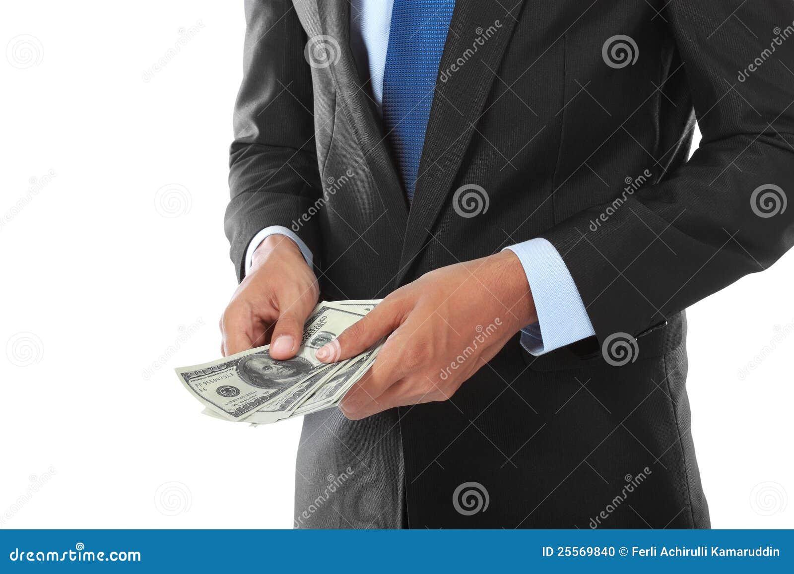деньги руки s бизнесмена
