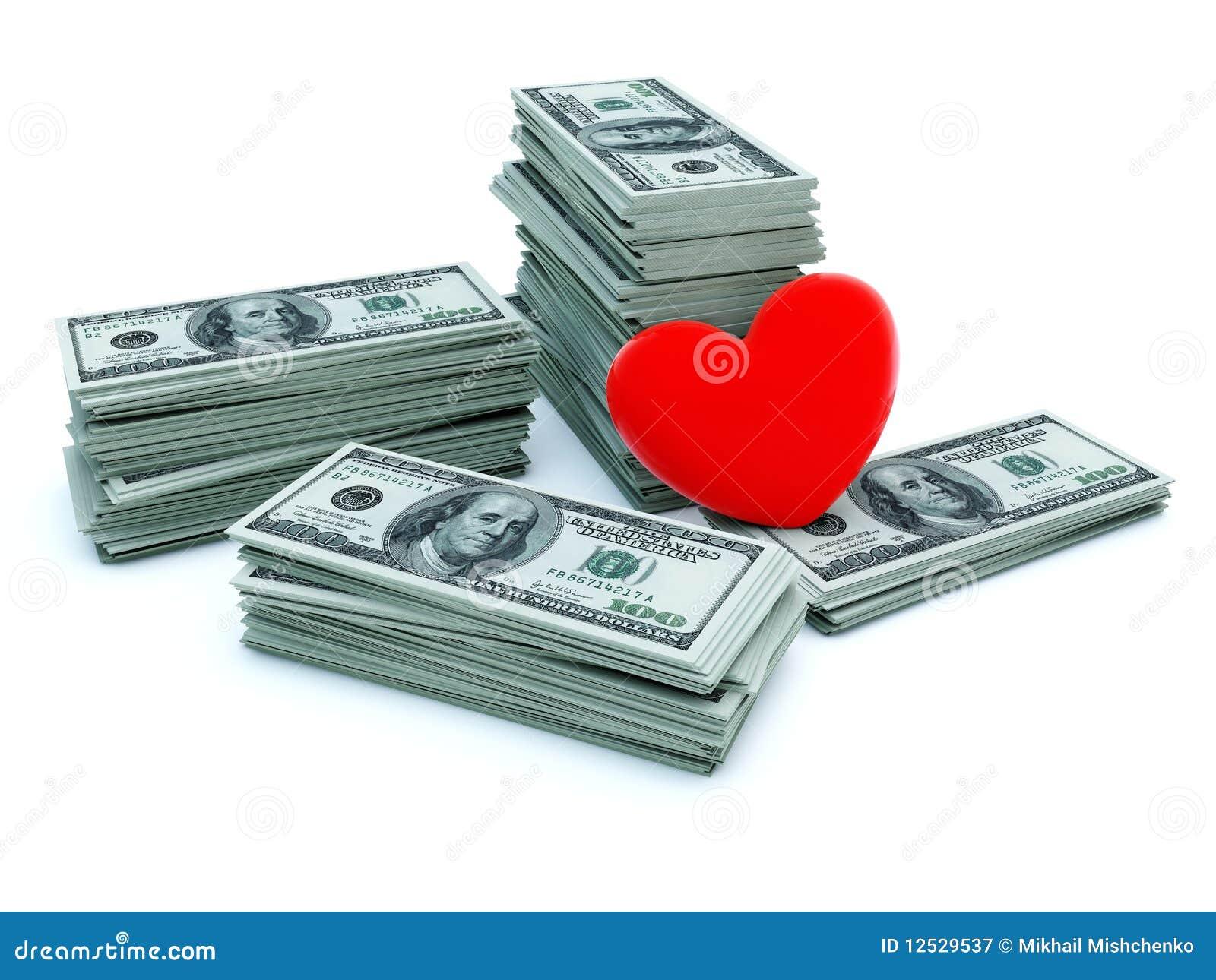 деньги сердца