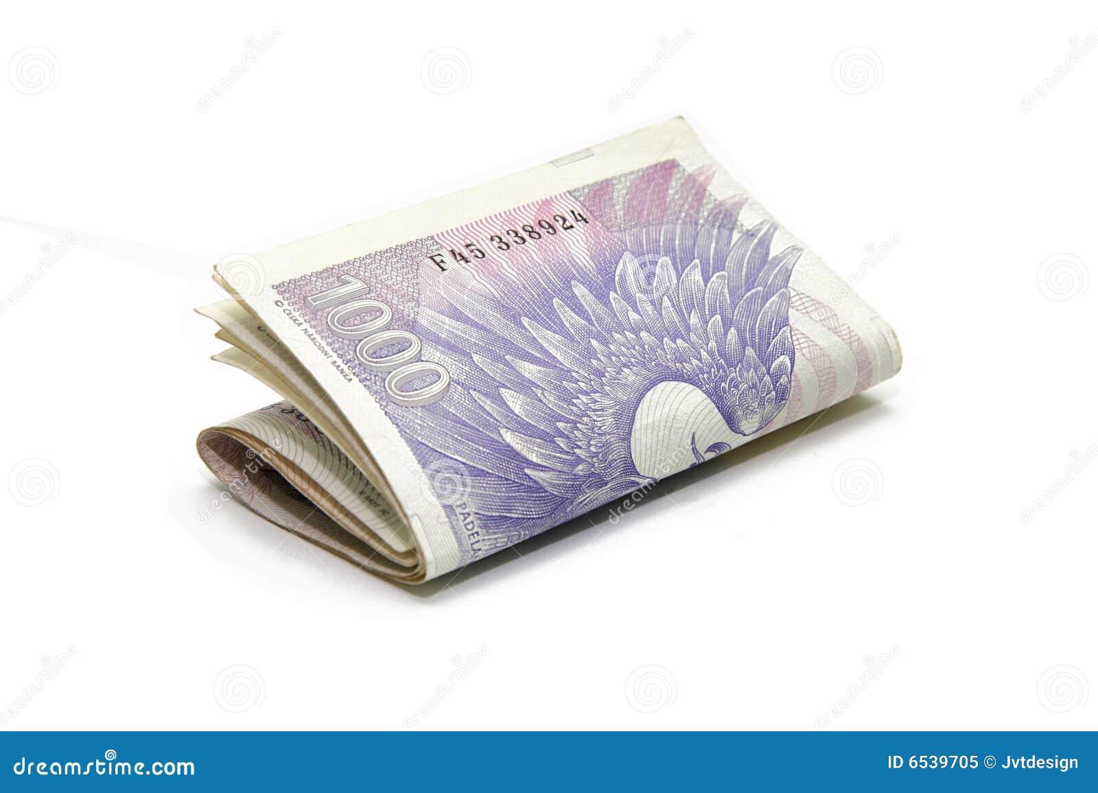 деньги тысяча кредиток чехословакские