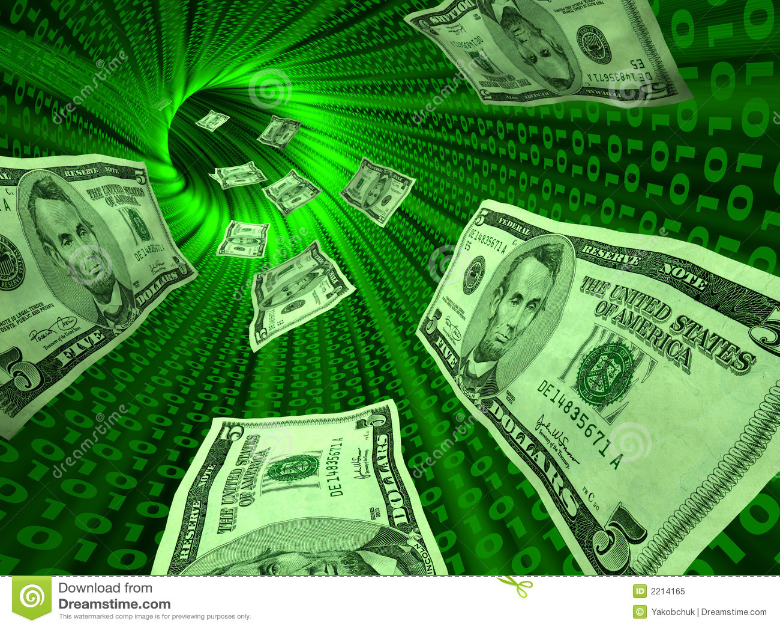 деньги e