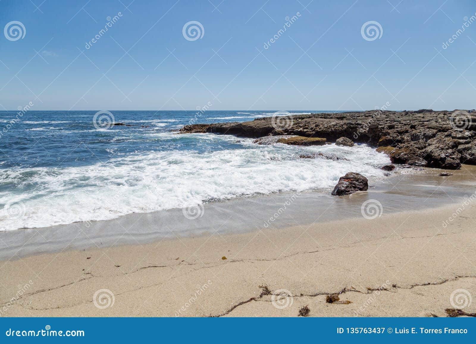 День в пляже Laguna, Калифорния