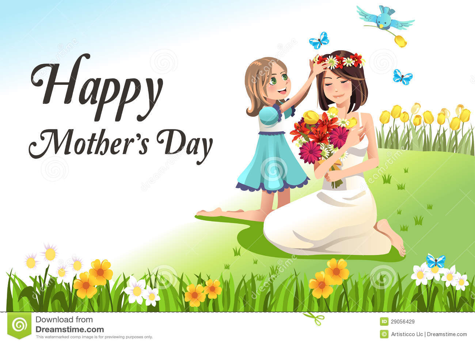 Поздравление на день матери по английски