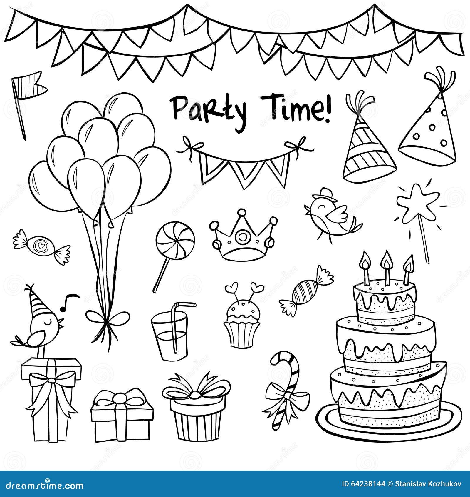 картинки на день рожденья печать изо