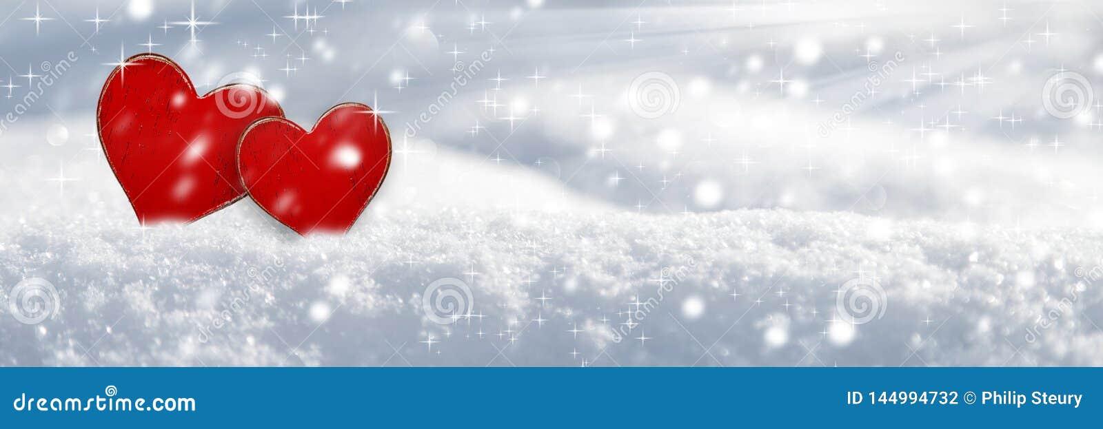 Любовь в снеге