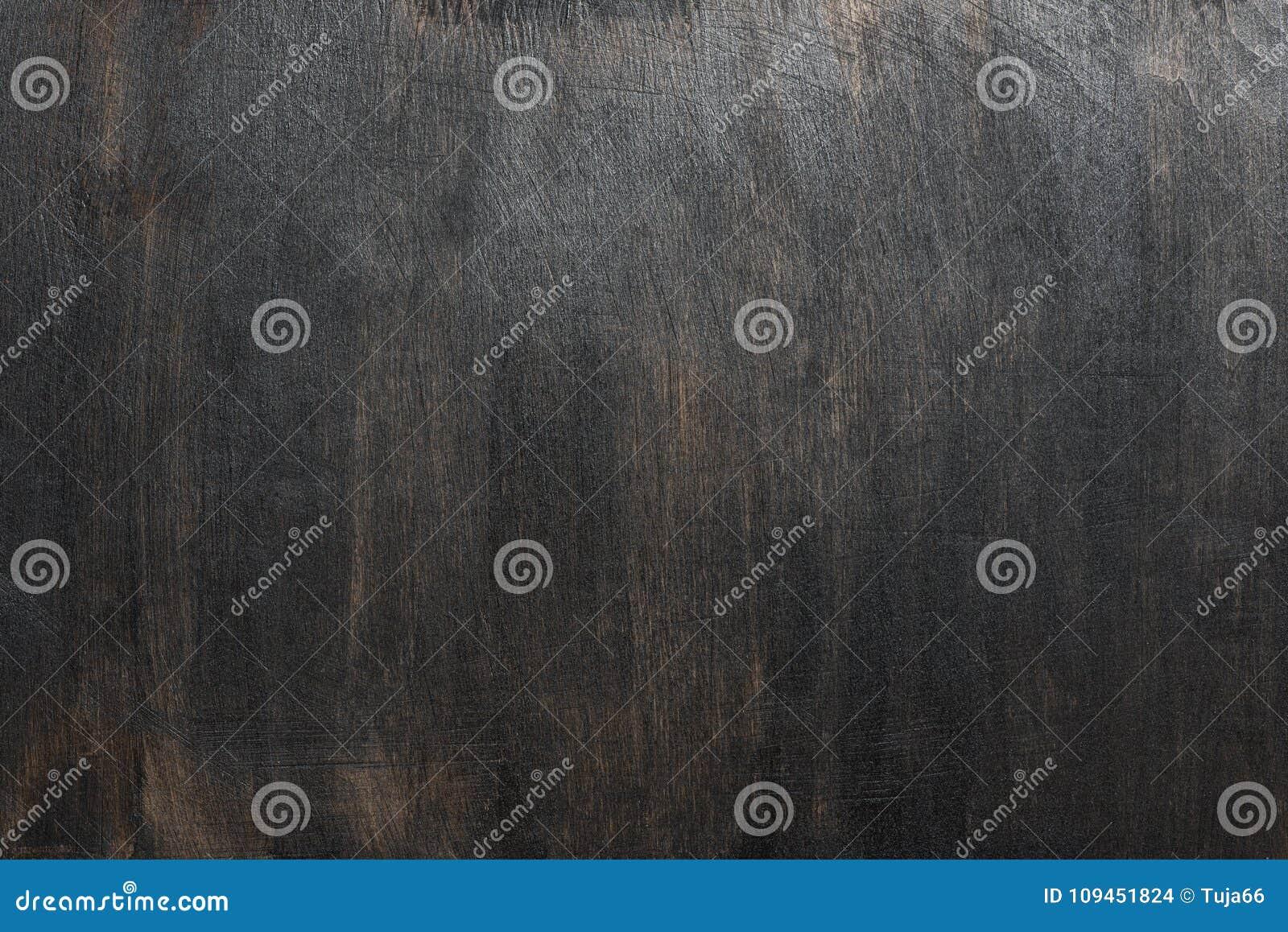 Деревенская черная деревянная текстура