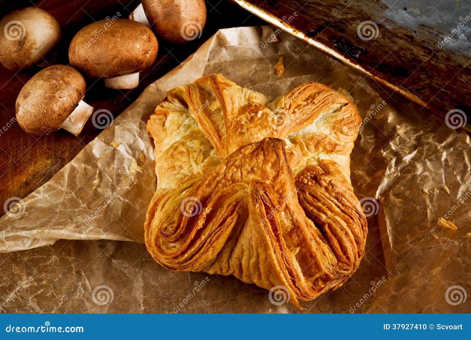 Деревенский пирог гриба