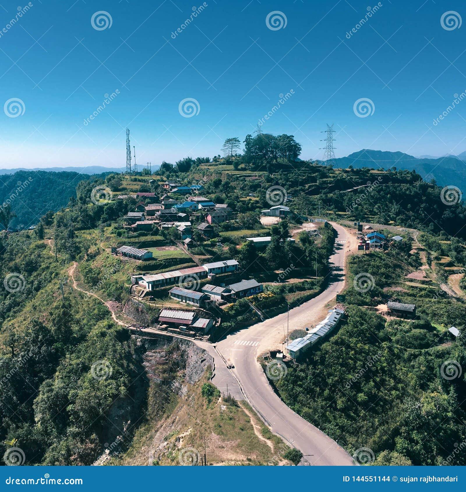 Деревня на окраинах Катманду