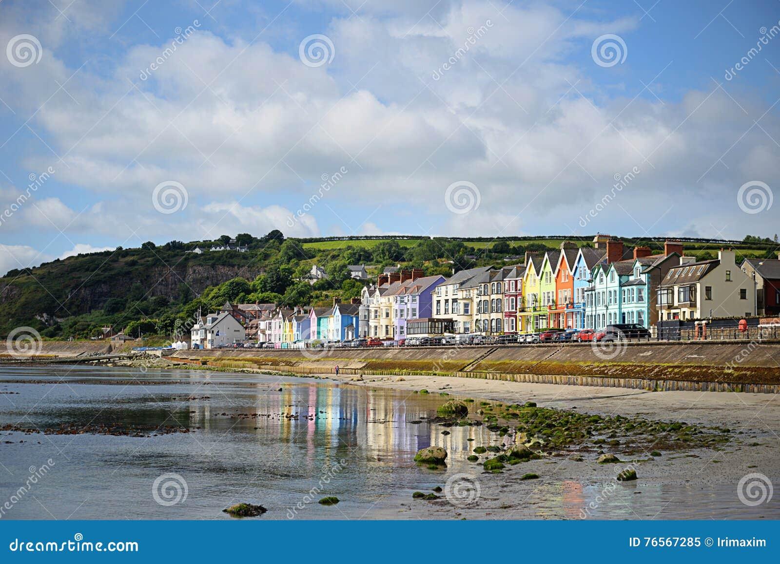 Деревня Whitehead, Северная Ирландия