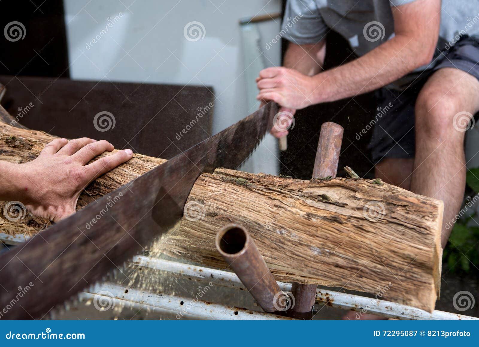 Download Деревья вырезывания для швырка, вырезывания ручной пилы Стоковое Изображение - изображение насчитывающей вырезывание, lopping: 72295087