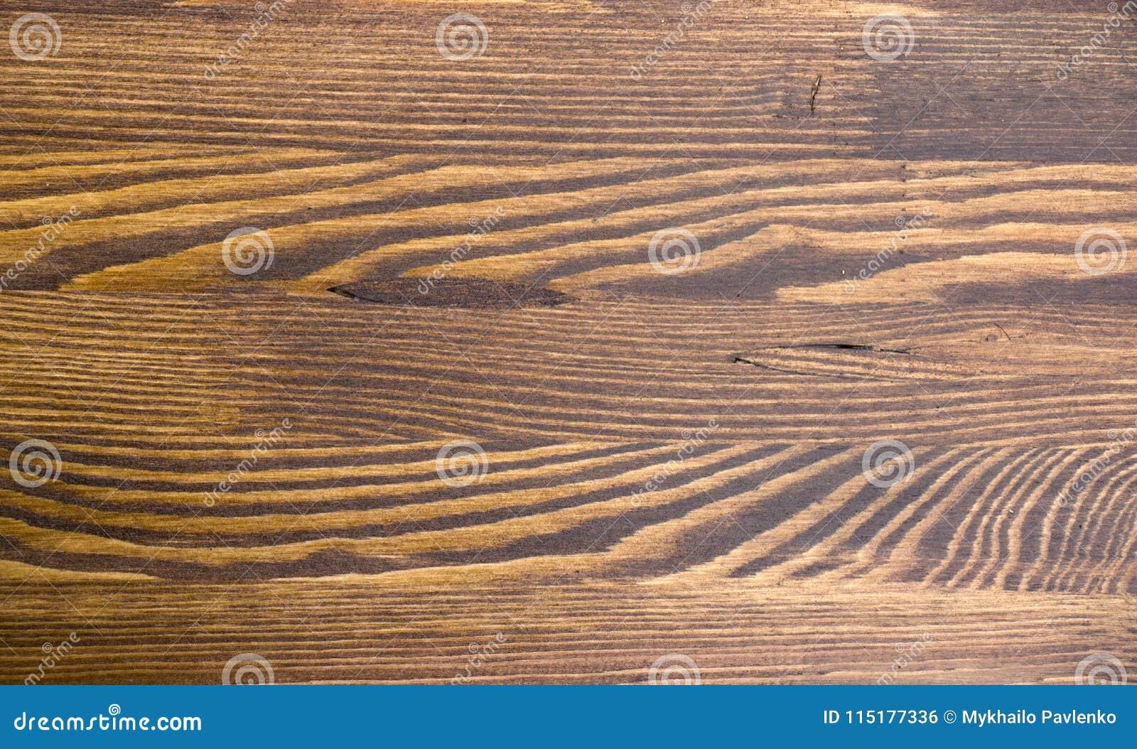 Деревянная коричневая текстура зерна, взгляд сверху предпосылки стены деревянного стола деревянной