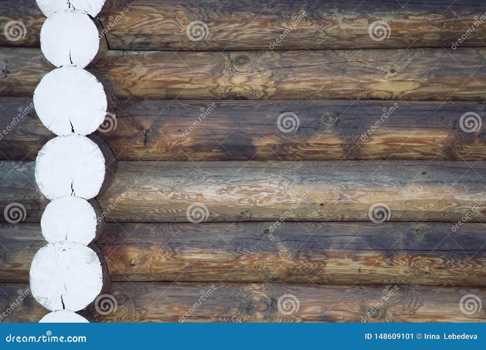 Деревянная предпосылка естественного входит в систему деревня